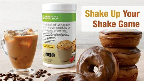 Introducing Protein Baked Goods Mix