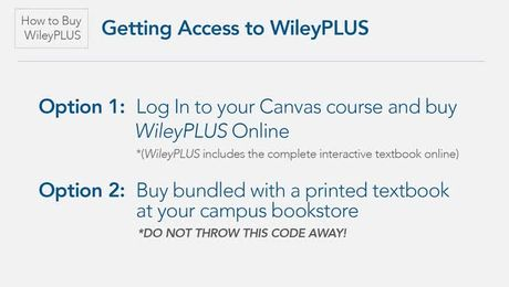 First Day of Class - Getting Started with WileyPLUS and Canvas (Student)