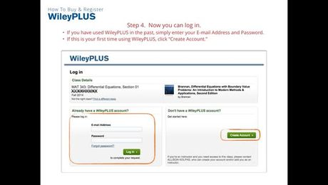 First Day of Class - Getting Started with WileyPLUS (Student)