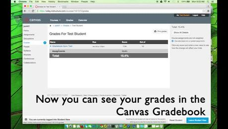 How to complete a WileyPLUS assignment and sync the gradebook (Student - integrated Canvas only)