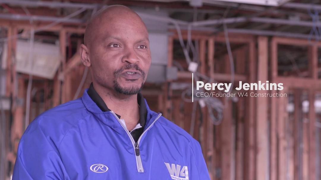 Main Street Matters: Percy Jenkins @ W4 Construction