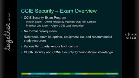 CCIE Security Certification