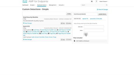 Email Security and AMP for Endpoint Console Integration