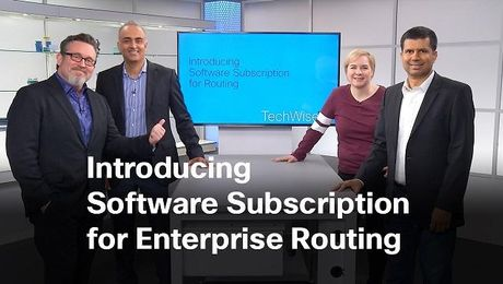 Introducing Software Subscriptions for Enterprise Routing on TechWiseTV