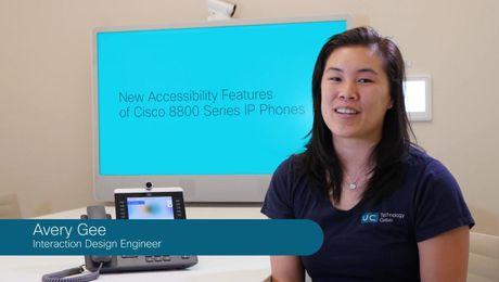 New Accessibility Features of Cisco 8800 Series IP Phones