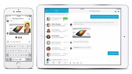 Navigate Cisco Spark on an Apple Device