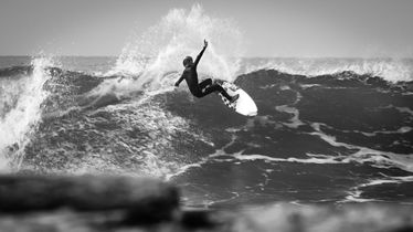 Jett Schilling at Lower Trestles