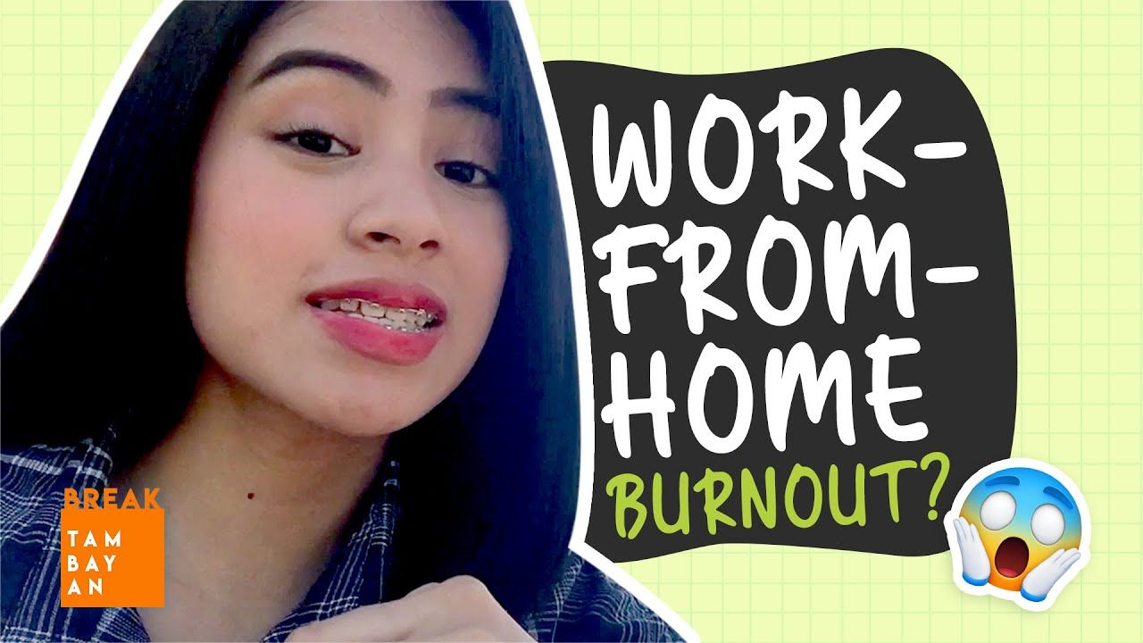 Work-from-home Tips ni Breaker Trish Sa Mga Feeling Burned Out | BreakTambayan