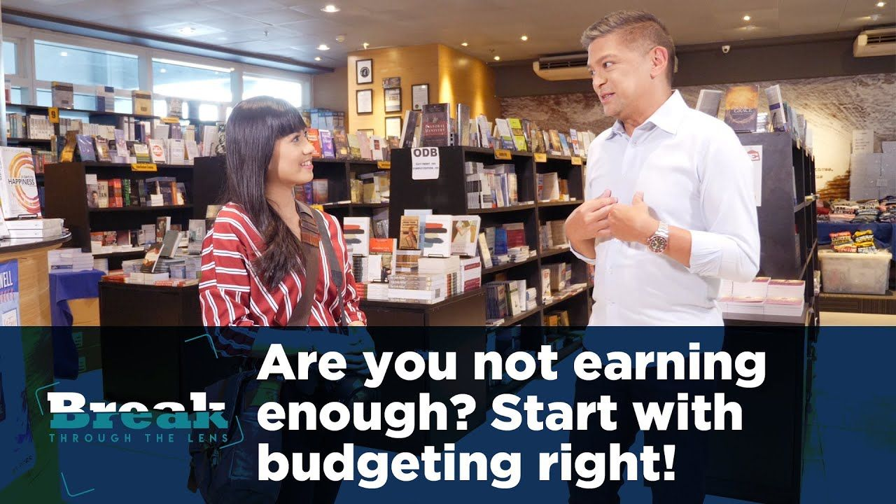 BreakThrough the Lens | Are you not earning enough? Start with budgeting right!