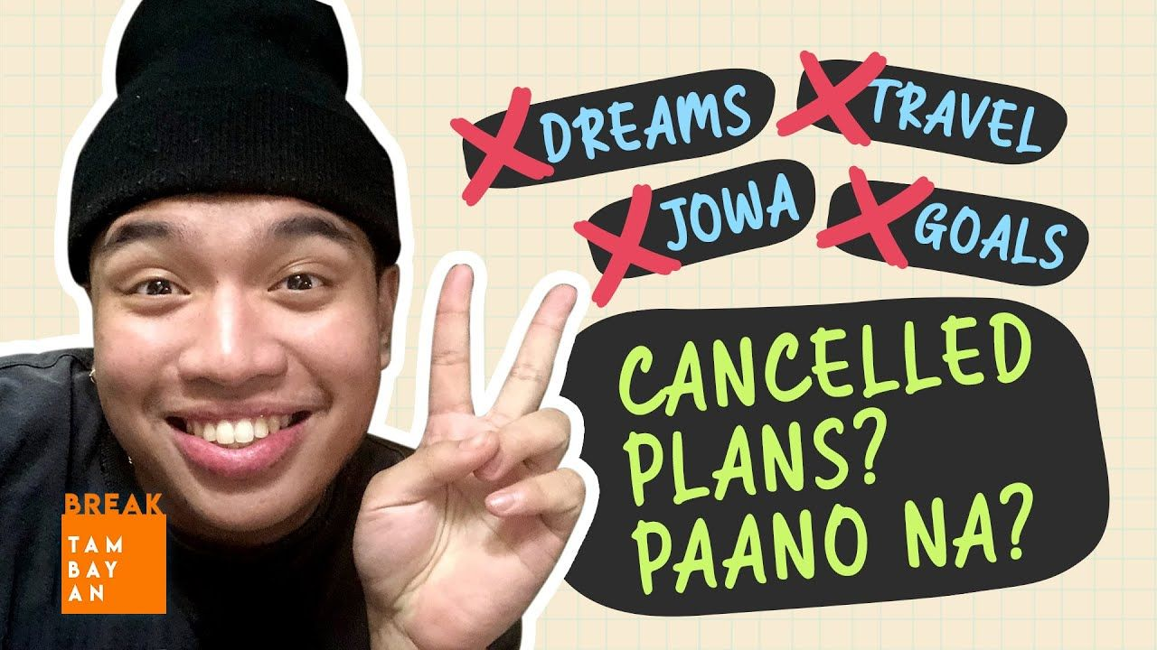 #BreakThrough Tips to Rise Above Disappointment sa Cancelled Plans with Breaker Jericho Arceo