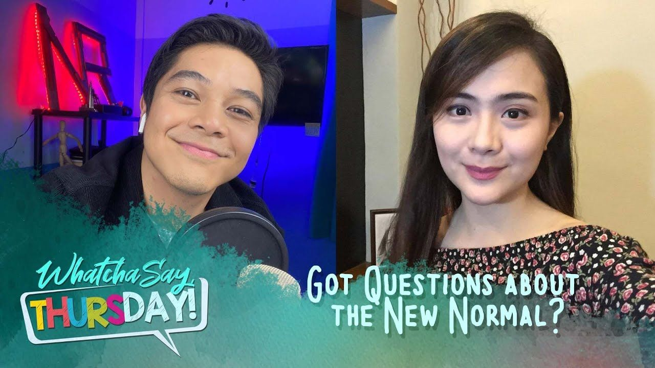CBN Asia Online - Ready Ka Na Ba Sa New Normal? Whatcha Say, Thursday! | iCanBreakThrough
