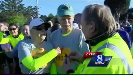 Runners ready for Big Sur 9-mile run