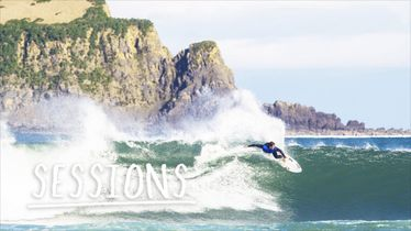 Kicking off the new year with a good surf. | Sessions: Mundaka