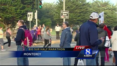"14th Big Sur Half Marathon on Monterey Bay ""Equalizer"""