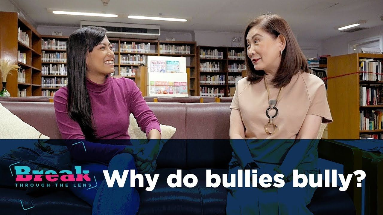 BreakThrough the Lens | Why do bullies bully?
