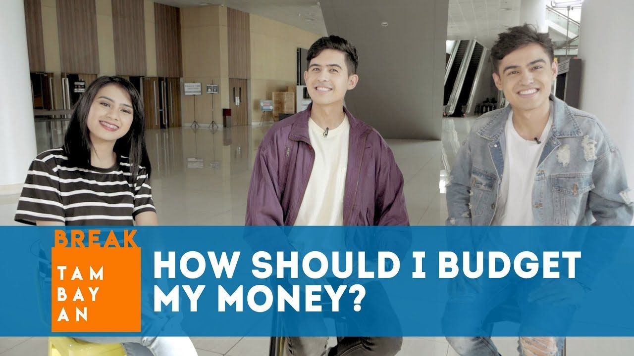 BreakTambayan | How should I budget my money?