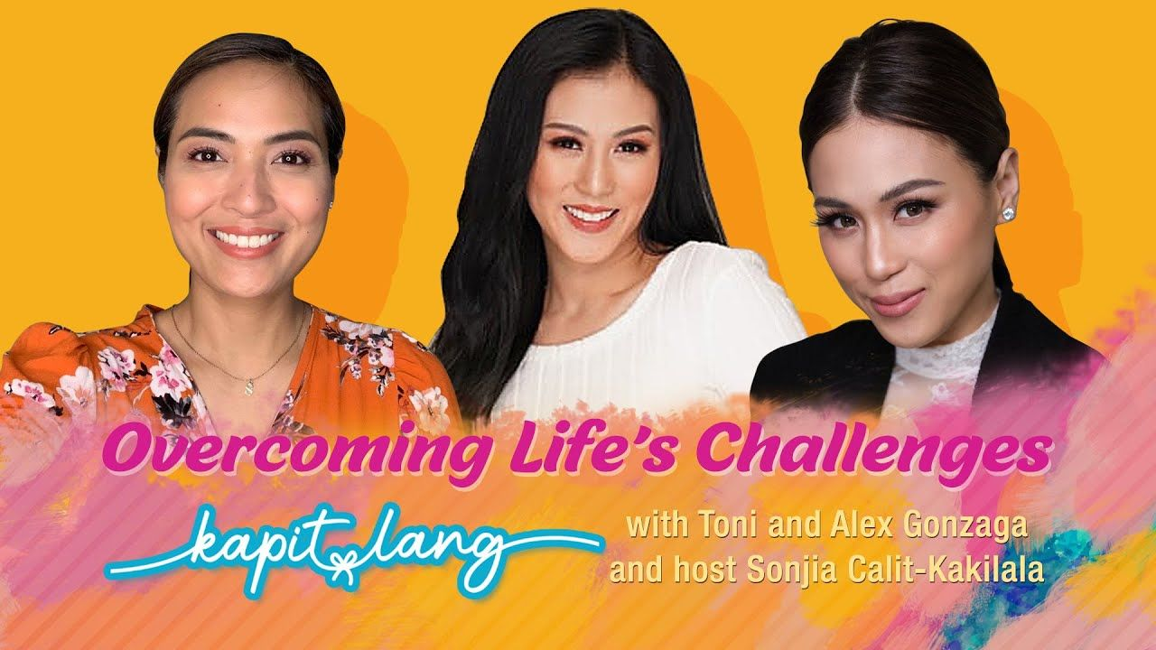 CBN Asia Online – Toni and Alex Gonzaga's Biggest Challenge in Life | Kapit Lang | iCanBreakThrough