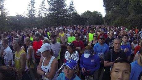 Big Sur International Marathon 2017 Race Start