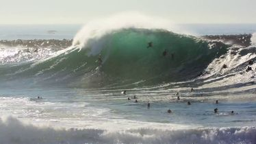 Swell of the Summer Offers up All-Time Wedge