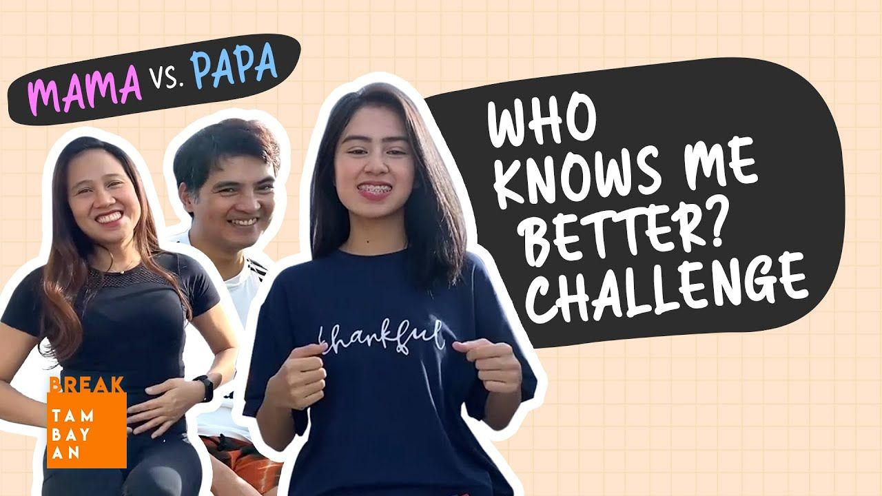 Who Knows Me Better Challenge with Breaker Trish | BreakTambayan
