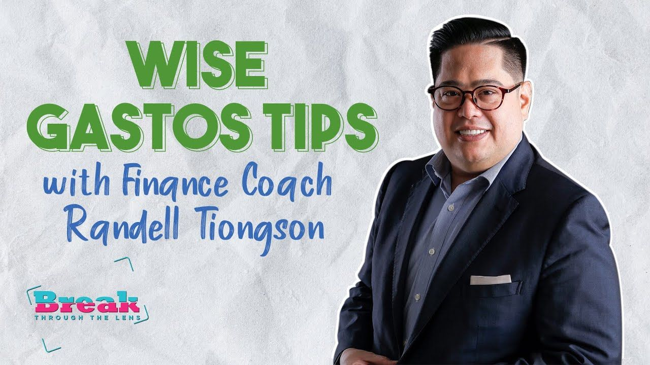BreakThrough the Lens | Wais Gastos Tips with Finance Coach Randell Tiongson