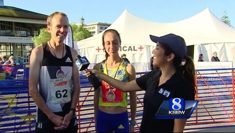 Runners hit the streets for 14th Annual Half Marathon on Monterey Bay