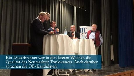 Riesenandrang bei der Podiumsdiskussion