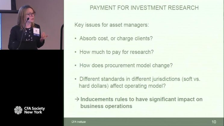 Keynote Address: MIFID II: How It Will Impact Your Business
