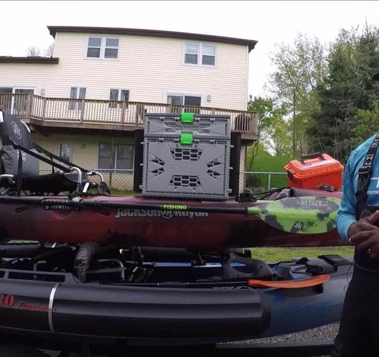 Old Town Predator PDL Helix 5 Install - Kayak fishing - Bassmaster