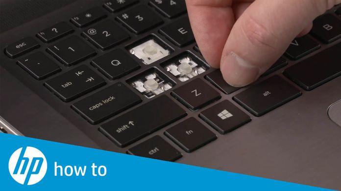 How to Fix Stuck Keys on HP Notebooks