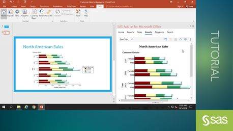 Working with the SAS Add-In for Microsoft Office - SAS Video