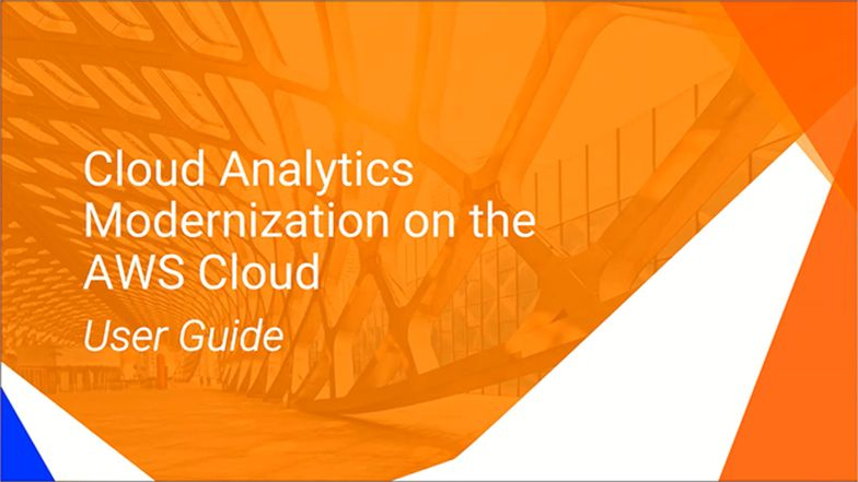 Cloud Analytics Modernization with AWS, Tableau, and Informatica