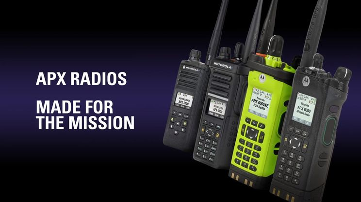 APX Two-Way Radios: The Very Best - Public Safety