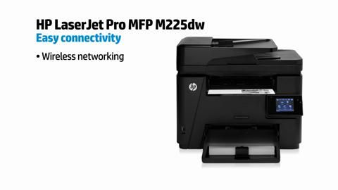Transform the way you work (M225dw) - HP LaserJet Pro MFP