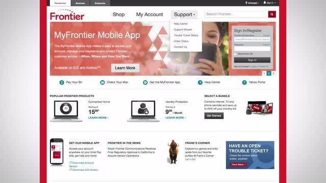 Frontier Communications Video Gallery