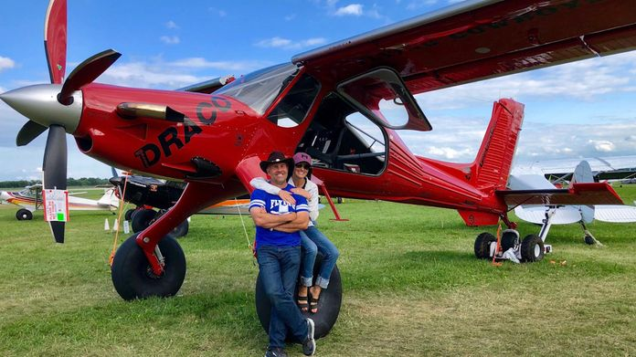 Bally's Bomber Mini B-17 - AirVenture 2018 - AOPA Live Video Gallery