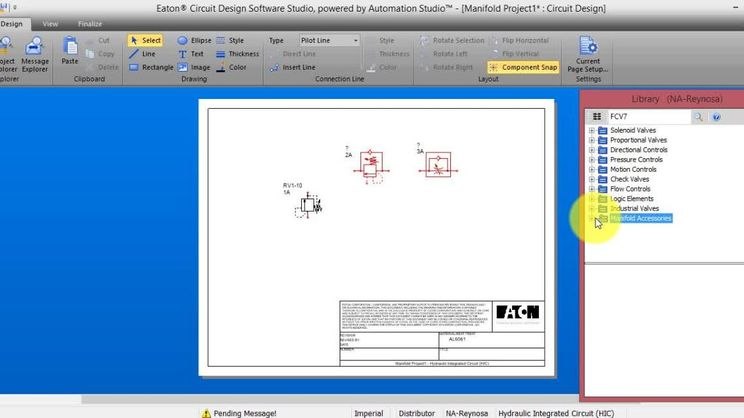 4 Configuring A Valve Using Eaton S Circuit Design Software Studio Valves Eaton Videos