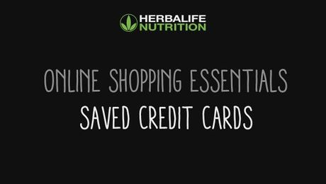 Online Shopping Essentials - Saved Credit Cards
