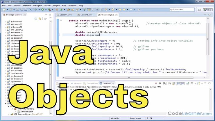 Java Programming Tutorial - 04 - Defining a Class and