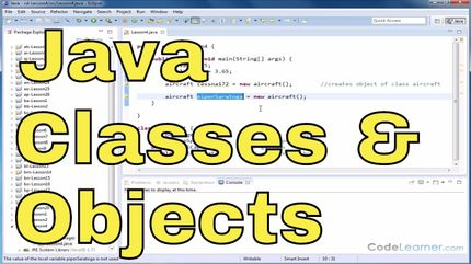 Java Programming - Vol 3 - Objects & Classes - Math Tutor Public Gallery