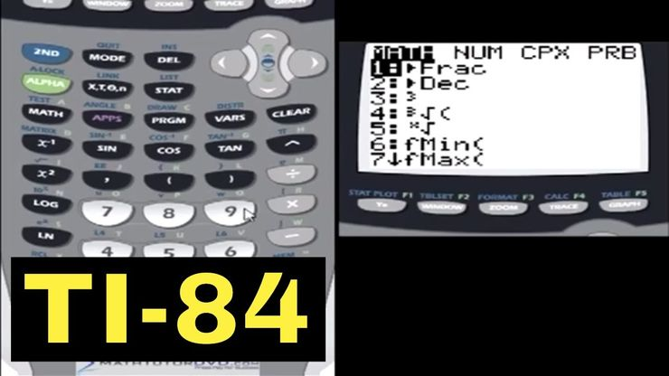 TI-84 Calculator - 12 - Converting Between Degrees and