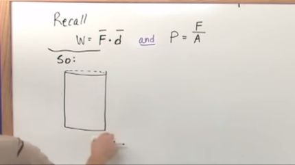 lesson 6 - work heat and pv diagrams (physics tutor)