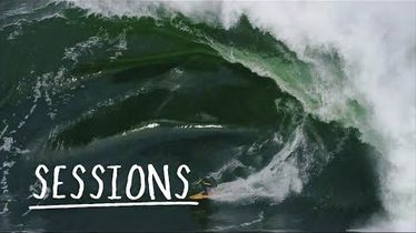 Russell Bierke Battles a Heavy Day at Shipstern Bluff | Sessions