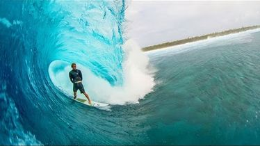 Ian Walsh Surfs Perfect Barrels with World Champ, John John Florence   Distance Between Dreams