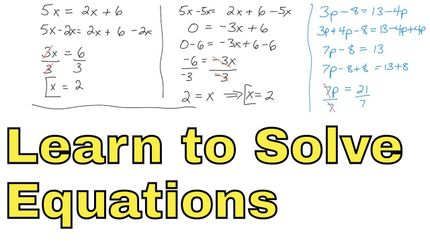 Algebra 1 Unit 3 Lesson 3 Solve Single Step Equations With Addition