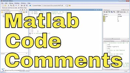 Matlab Online Tutorial - 06 - Exponents and Scientific Notation