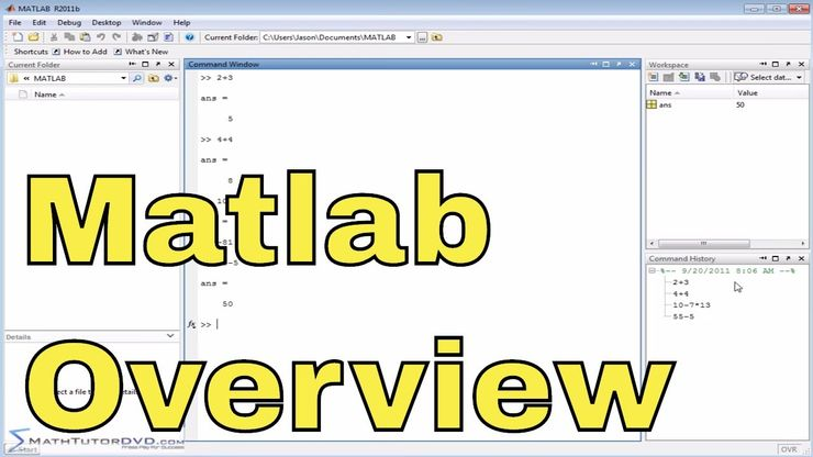 Matlab Online Tutorial - 07 - Working with Fractions and the