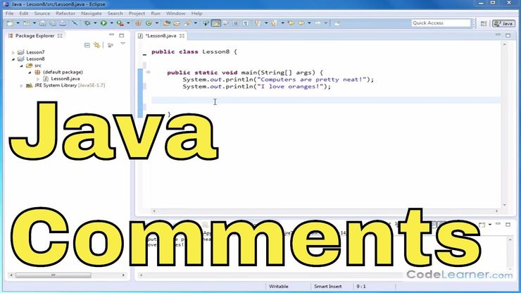 08 - Examining a Simple Java Program in Detail - Java