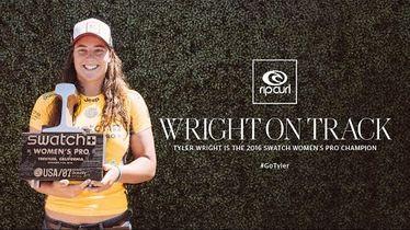 Tyler Wright Wins Swatch Women's Pro at Trestles