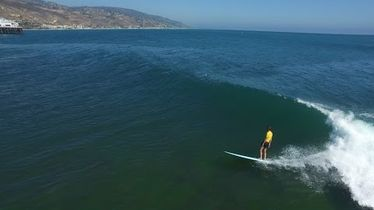 Shane Dorian, Rob Machado, and Friends Tackle Malibu for 2016 Surf Aid Cup - The Inertia